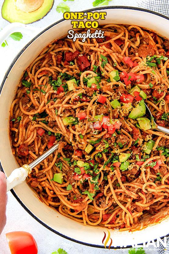 http://www.theslowroasteditalian.com/2017/12/one-pot-taco-spaghetti.html