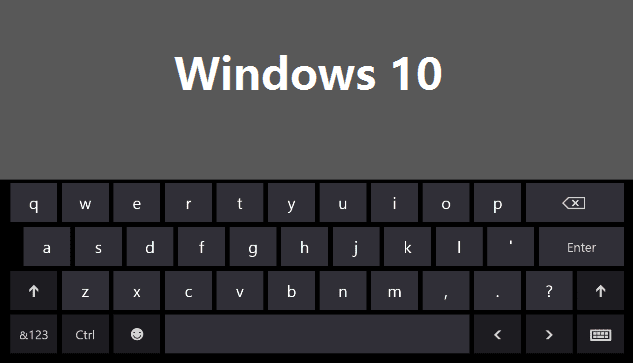Windows 10 scorciatoie da tastiera