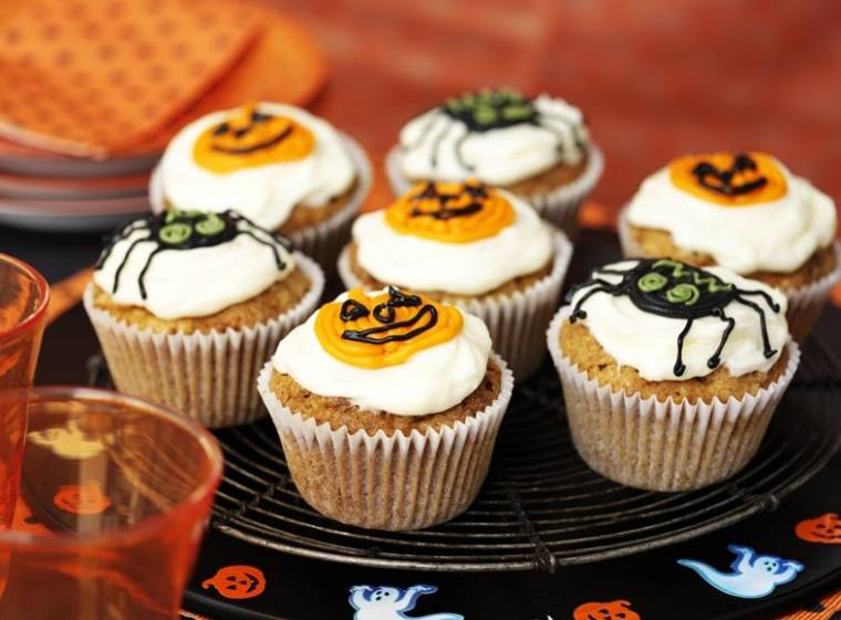 Halloween Carrot Muffins: Great For Halloween Night