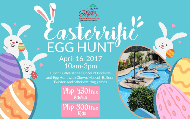 Easterrific Celebration at Crown Regency Suites & Residences