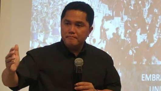 Erick Thohir: 7 Lembaga Survei Nyatakan Jokowi-Ma'ruf Unggul