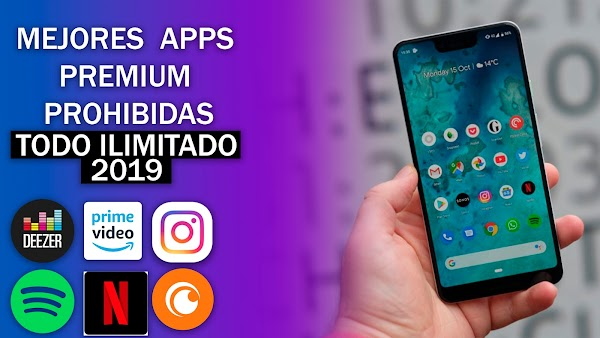 Top 7 Aplicaciones PREMIUM CON TODO ILIMITADO Marzo - Mayo 2019 Mejores Apps Mas Buscadas