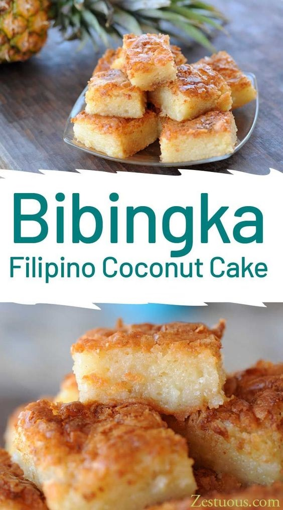 Bibingka – Filipino Coconut Cake