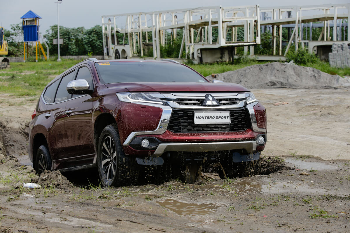 Mitsubishi Montero Sport Waterproof and Flood Test