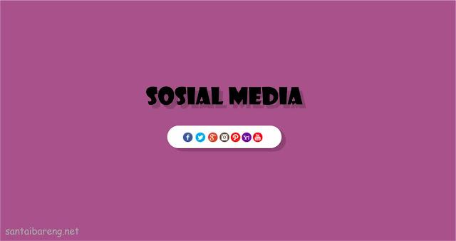 Cara Memasang Widget Social Media pada Blog