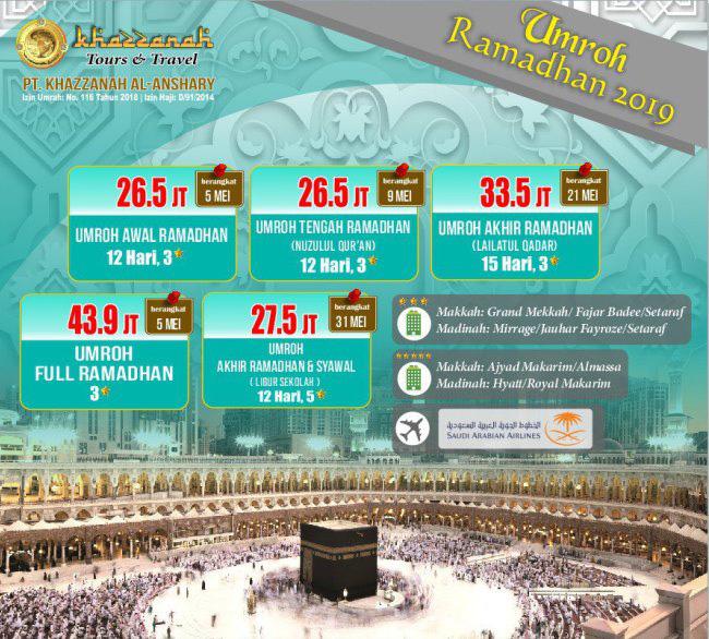 Haji Plus Khazzanah Tour
