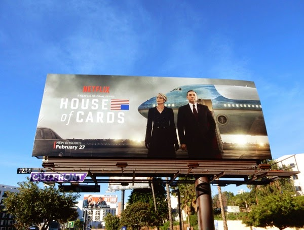 House of Cards season 3 billboard