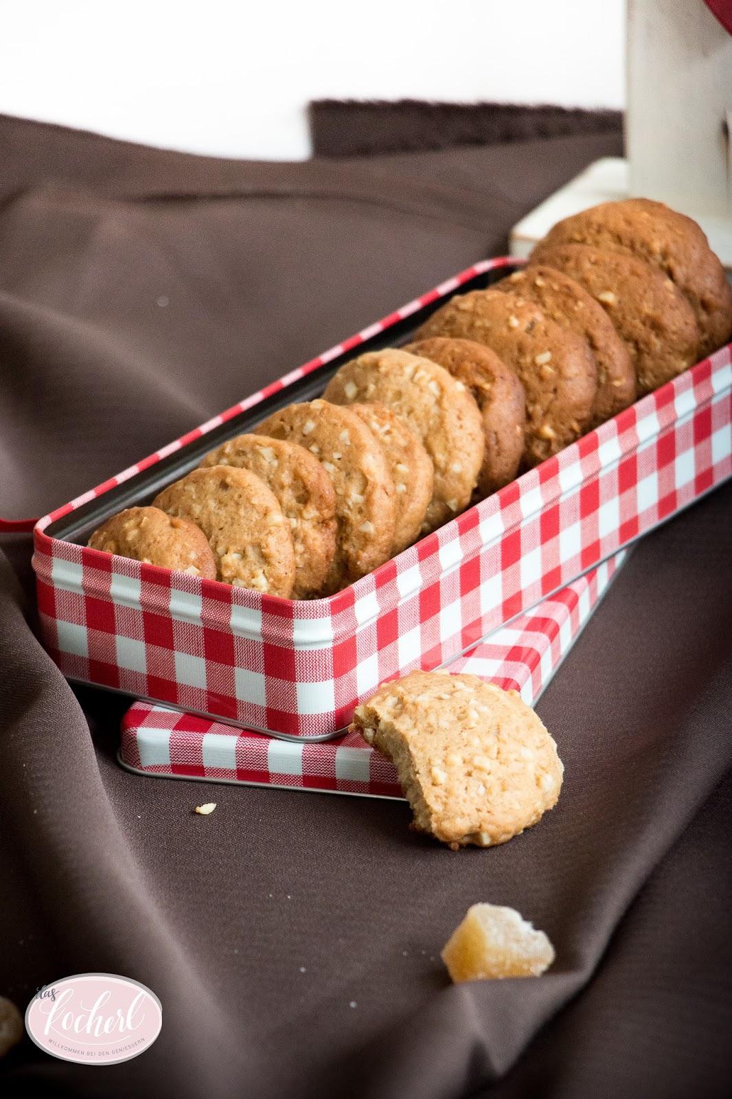 Ingwer-Lebkuchen-Cookies