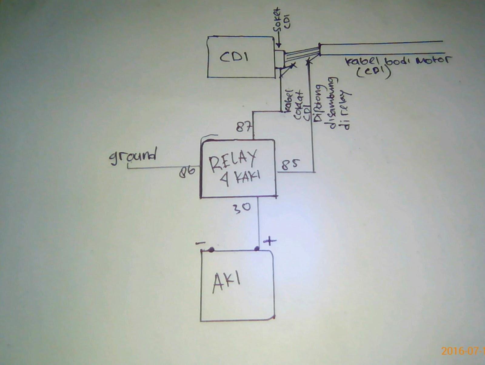Solusi jupiter mx memaksimalkan pengapian atau memperbesar kabel coklat cdi di putus itu kabel 12volt yg mondar mandir melewati kabel bodi sehingga arusnya gak semaksimal mungkin kalo di kasih relay menuju ke aki asfbconference2016 Choice Image
