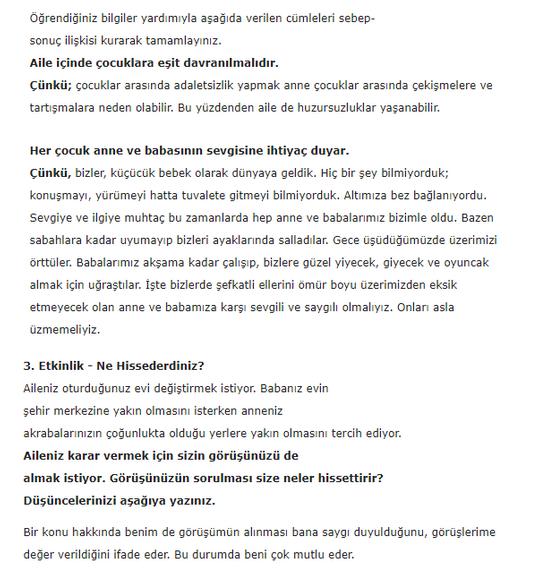 5. Sınıf İlke Yayınları Din Kültürü Ders Kitabı 62. Sayfa Cevapları 3.Ünite