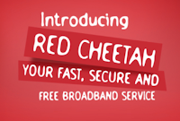 Red cheetah free wifi