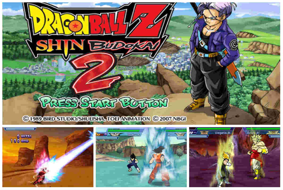 Dragon Ball Z Shin Budokai 2 (PSP) (ISO) Español (MEGA
