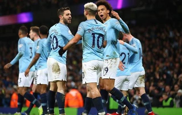 Man City vs Burton