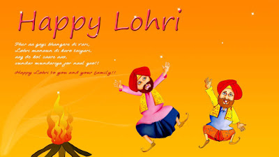 Happy Lohri 2017 HD Wallpapers for Free