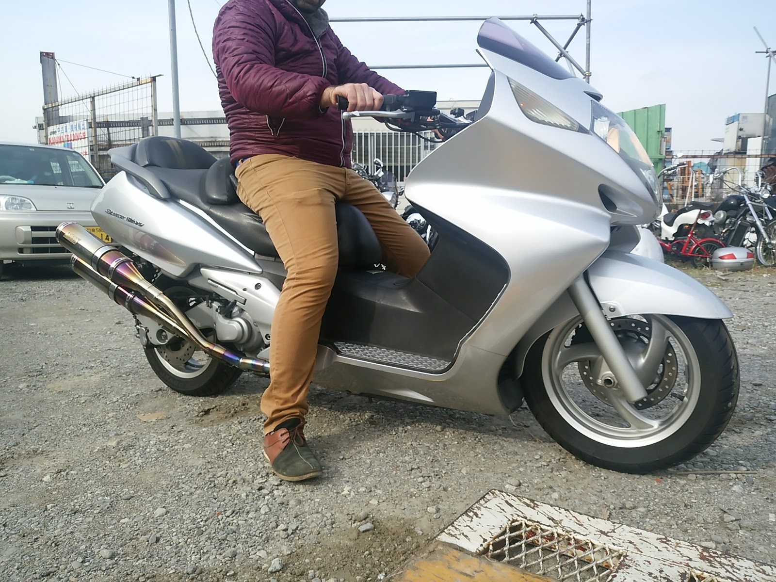 Export New Used Japanese Motorcycles Scooter From Osaka