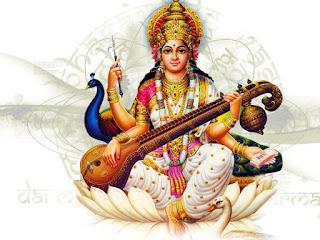Mata Saraswati Goddess Of Art And knowledge