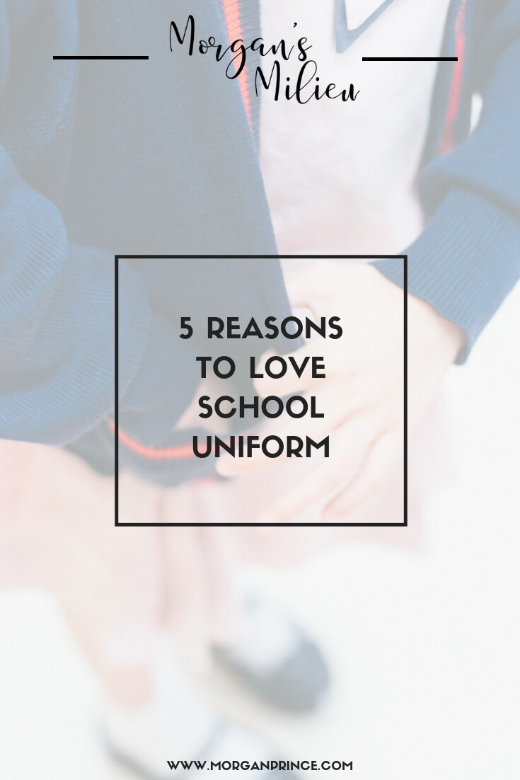 5 Reasons To Love School Uniform | Here's 5 reasons to love school uniforms, and a solution for one of the reasons we hate it!