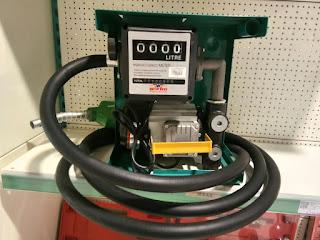 Pompa Minyak Solar Elektrik dengan Flow Meter 4 Digit - Wipro