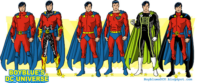 evolution of Mon-el costumes and looks