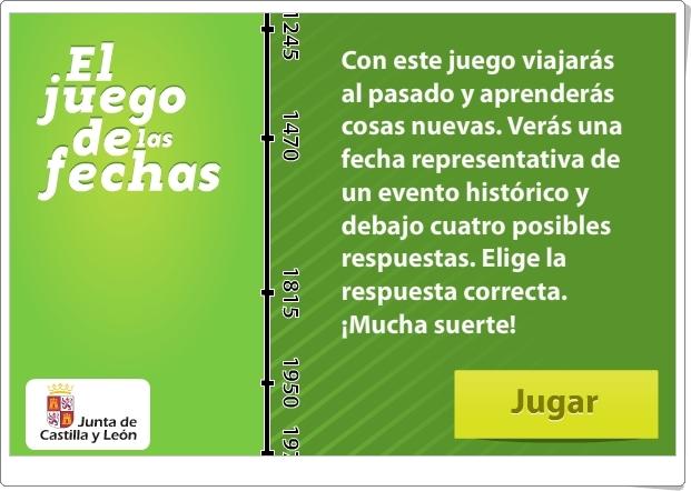 """""""El Juego de las Fechas"""" (Juego de cronología histórica)"""