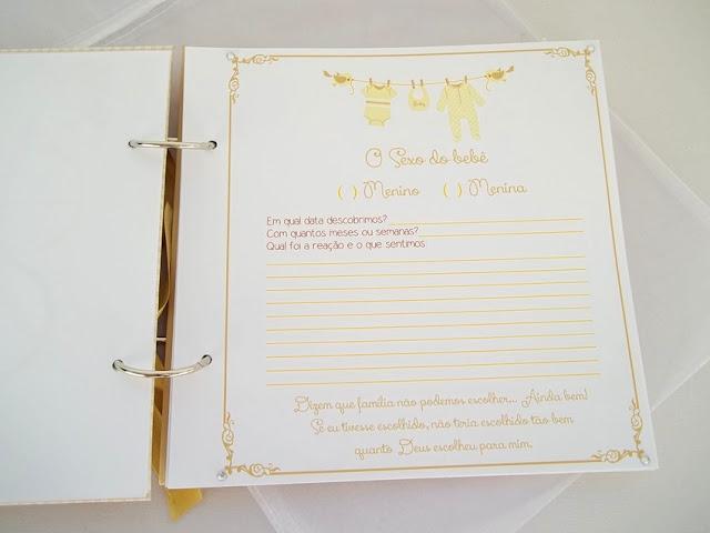 Diário da Gravidez, Presente criativo grávida, presentes para grávidas, álbum de scrap personalizado