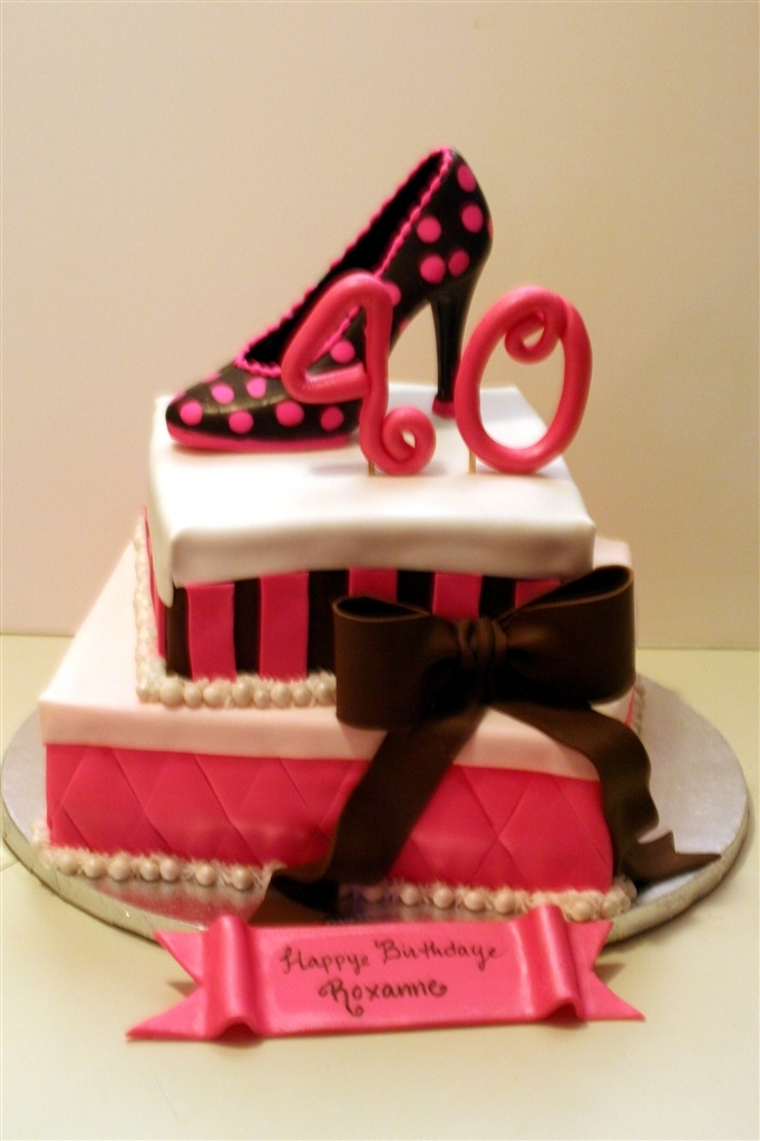 The Cake Chicks Happy Birthday To The Shoe Lover