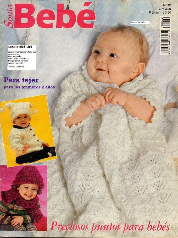 Revista Tricô -Sonia Bebê N° 42