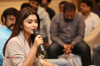 Shriya Saran Nandamuri Balakrishna at Gautamiputra Satakarni Team Press Meet Stills  0157.JPG
