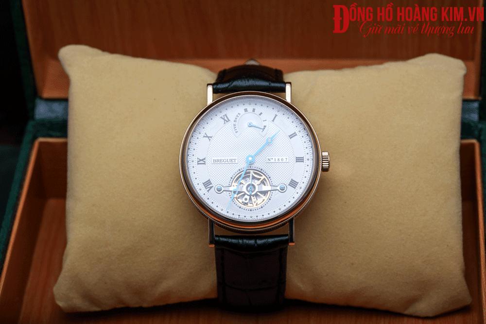 đồng hồ đeo tay nam dây da đẹp