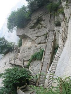 Escaleras Huashan