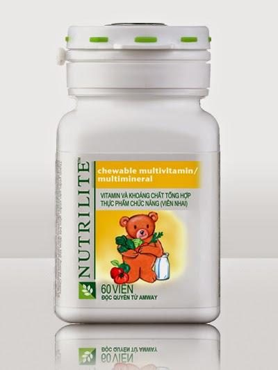 Chewable Multlvitamin Multlmeral Vitamin Và Khoáng Chất Tổng Hợp Amway