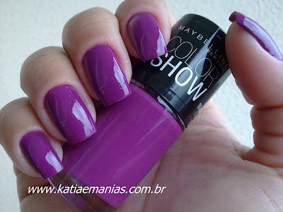 Bundle Monster, La Femme, carimbada, katiaemanias, Nail Plus, Ousada Nails, Maybelline Color Show,