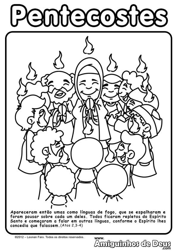 solenidade de pentecostes amiguinhos de deus