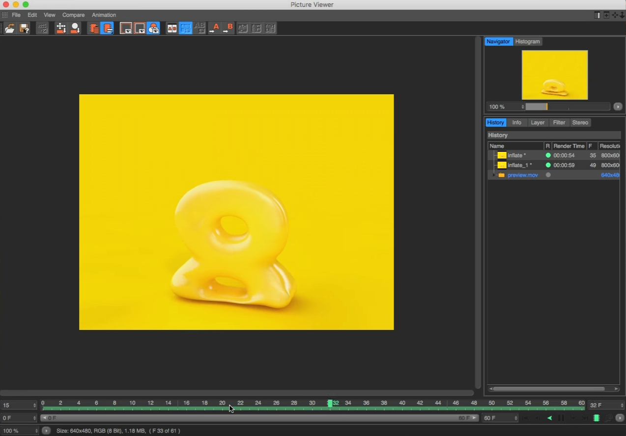 Inflate or Deflate Objects in Cinema 4D by Using Soft Body Dynamics