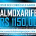 ALMOXARIFE COM SALÁRIO DE R$ 1150,00 PARA EMPRESA DE TRANSPORTE COLETIVO