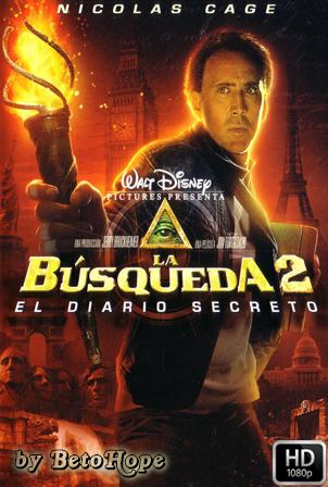 La Busqueda 2: El Diario Secreto [1080p] [Latino-Ingles] [MEGA]