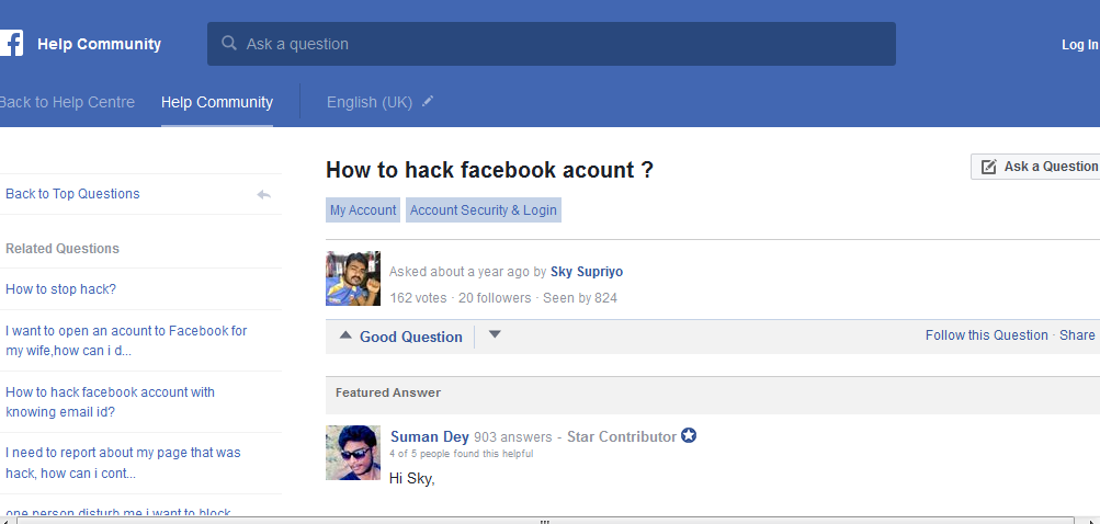 Seputar Dark Web: How to Hack a Facebook Account