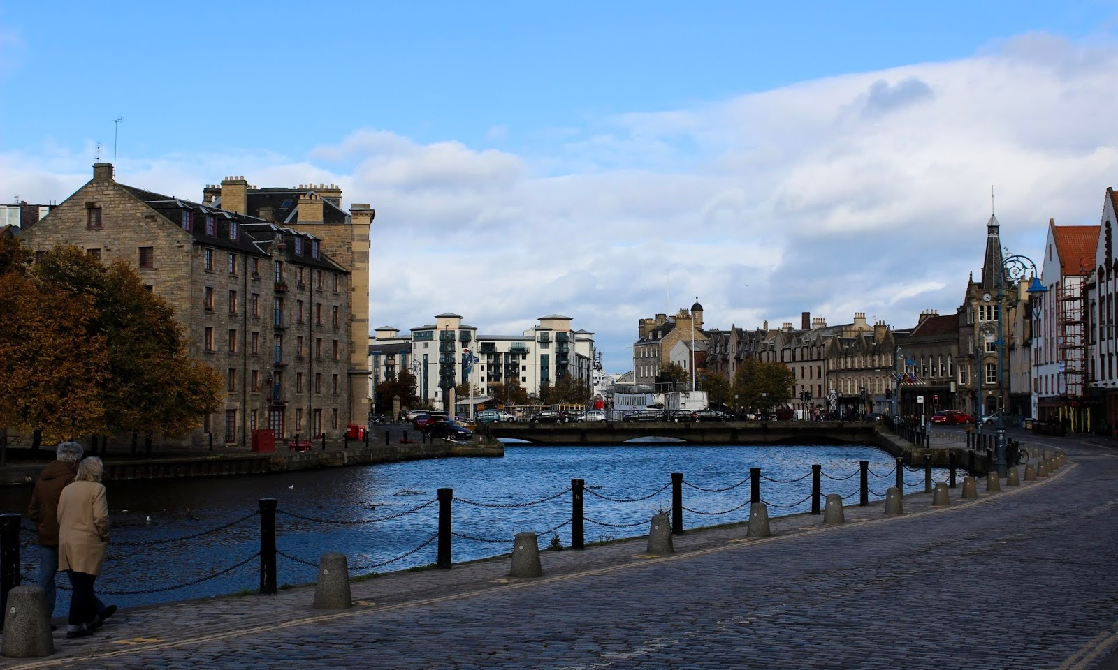 Visiting Leith, Scotland
