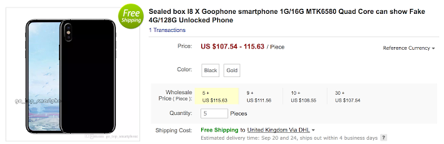 harga GooPhone x Iphone KW Indonesia