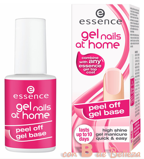 Base gel peel off