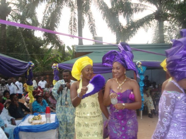 Yoruba Traditional Wedding Cakes