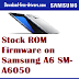 Stock ROM Firmware on Samsung A6 SM-A6050