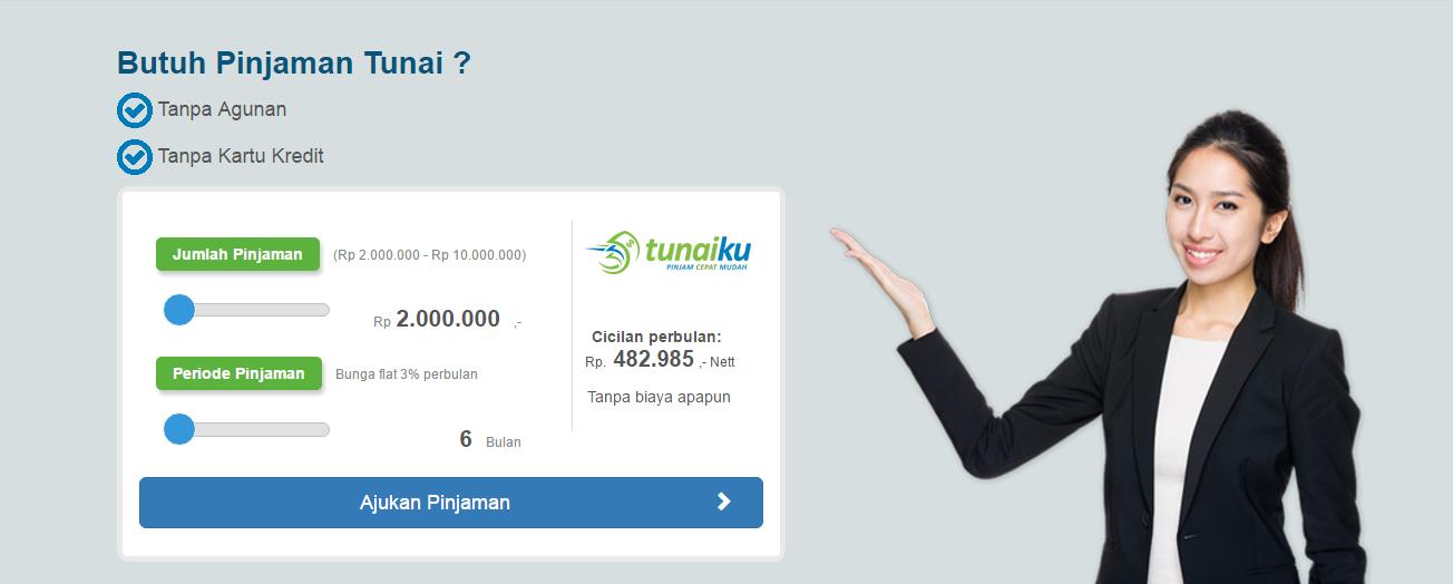 Tunaiku, Pinjaman Tunai Tanpa Agunan dan Kartu Kredit ...