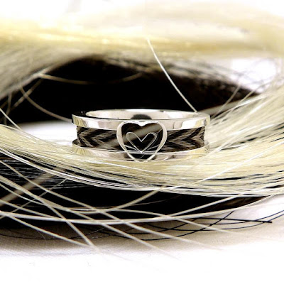 ring with a heart