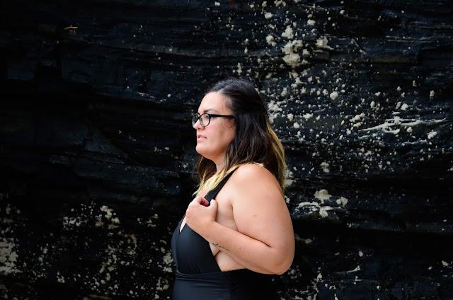 Bañador negro Shein plus size
