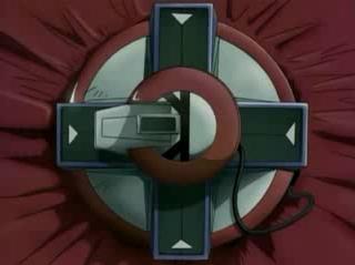 Primer prototipo de disco de duelo creado por Seto Kaiba para pasar desapercibido por el reino de los duelistas y rescatar a su hermano Mokuba