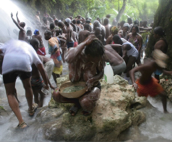 Zulu Women Bathing 91