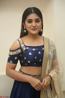 Niveda Thomas in Lovely Blue Cold Shoulder Ghagra Choli Transparent Chunni ~  Exclusive Celebrities Galleries 028.JPG