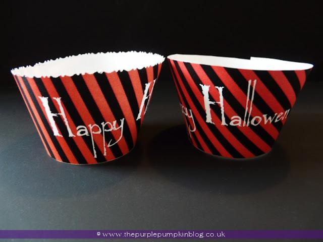 Halloween Cupcake Wrappers {Free Printable} at The Purple Pumpkin Blog