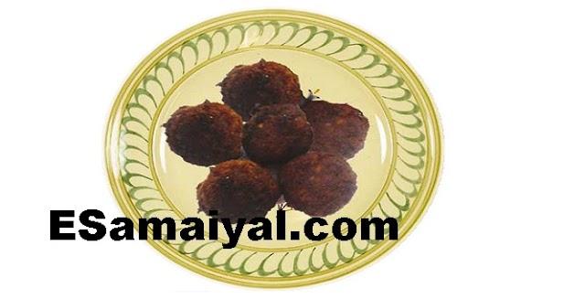பலாக்காய் கோலா உருண்டை செய்வது | Palakkay Cola Urundai !